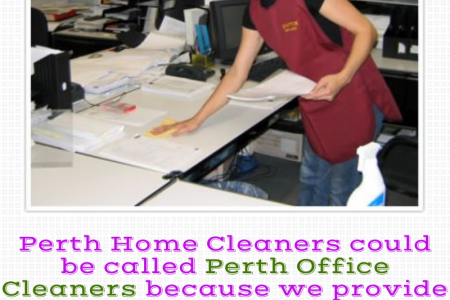 Perth Commercial Cleaning Services Infographic