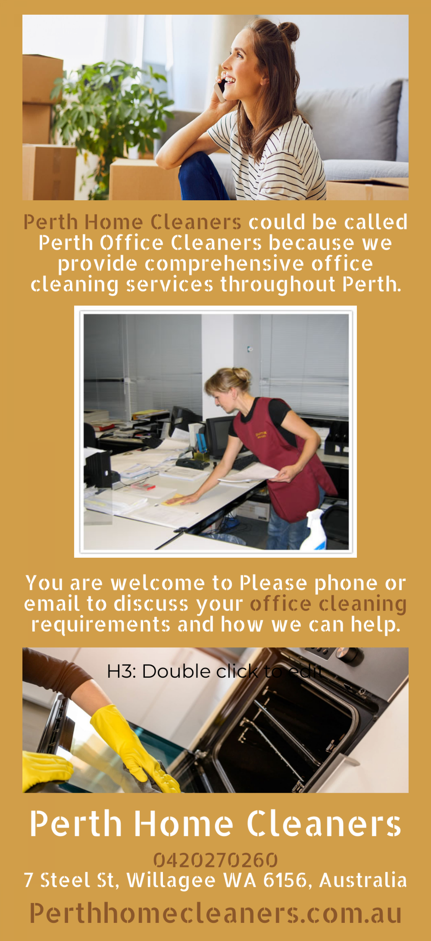 Perth Commercial Office Cleaning Infographic