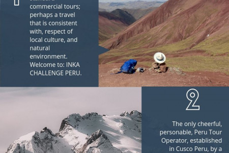 Peru local tour guides -Inka challenge peru Infographic
