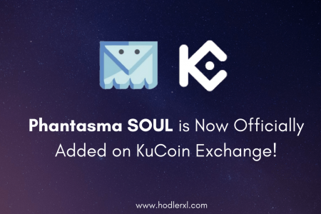 Phantasma SOUL is Now Officially Added on KuCoin Exchange! Infographic