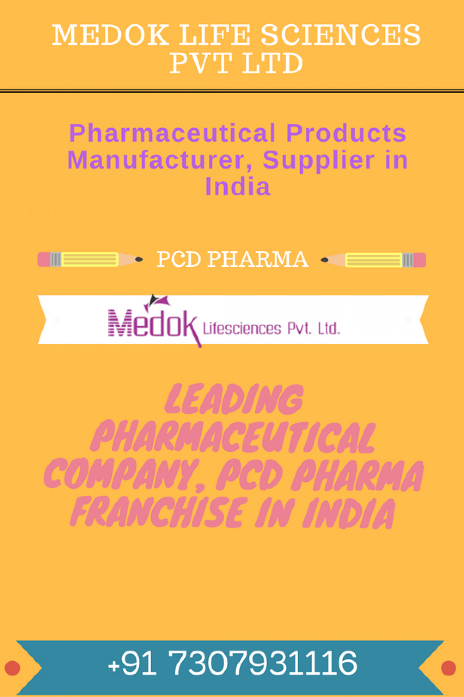 Pharmaceutical Products Manufacturer Infographic