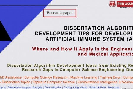 PhD Dissertation Research Methodology Help Tips For Developing Artificial Immune System (Ais) - Phdassistance.com Infographic