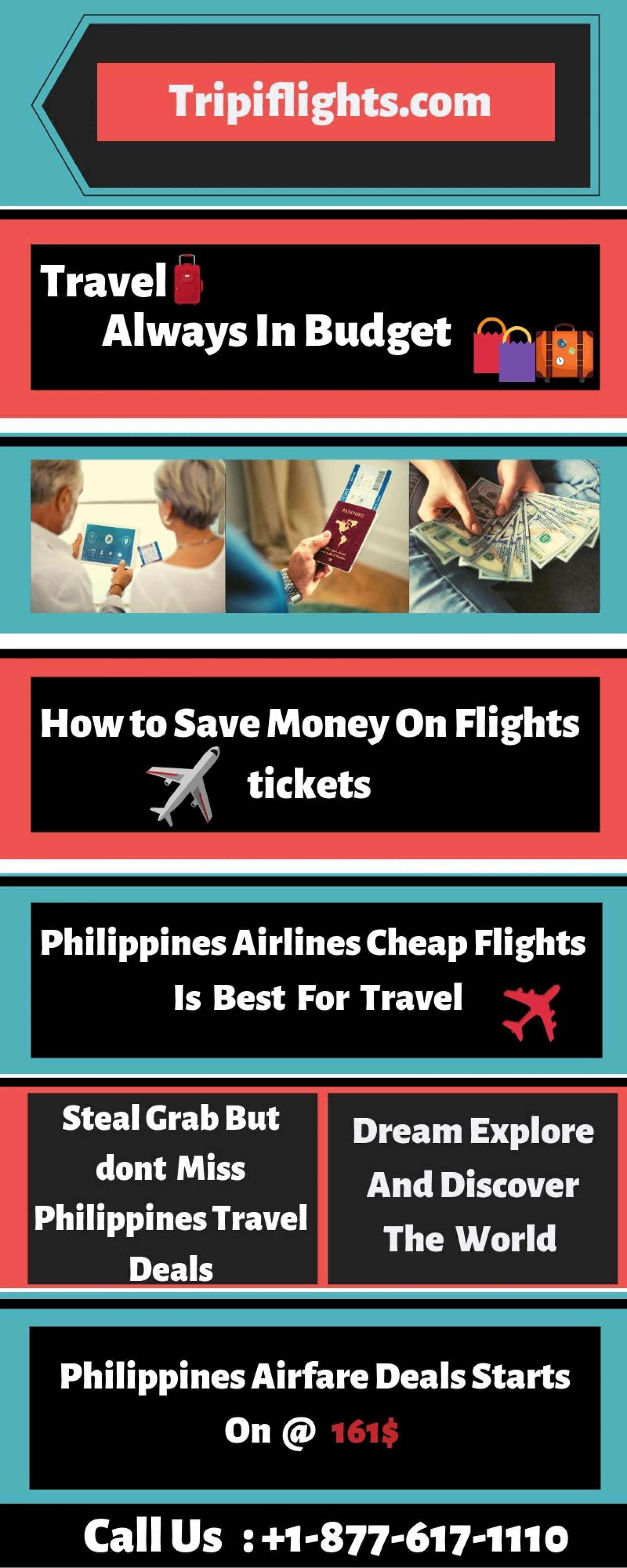 Philippines Cheap Flights - Tripiflights - Philippines Airlines  Infographic