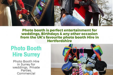 Photo Booth Hire Surrey Infographic