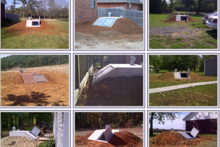Photo Gallery of Slope Front Storm Shelter Infographic