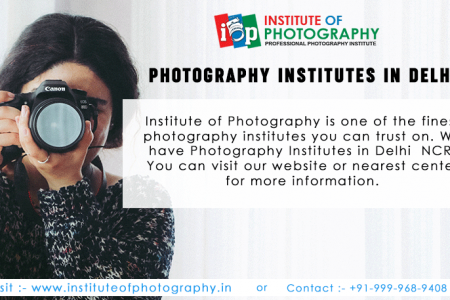 Photography Institutes in Delhi Infographic
