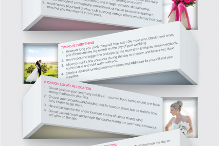 Photography tips and tricks for perfectly captured weddings Infographic