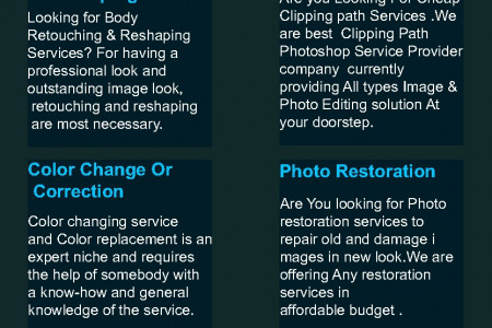 Photoshop services  Infographic