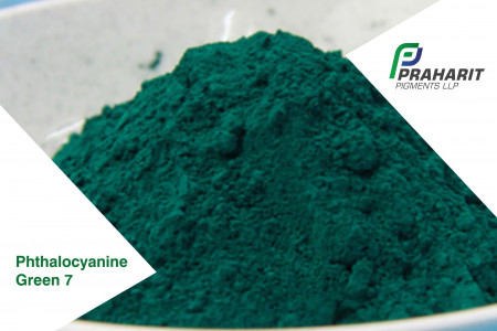 Phthalocyanine Pigment Green 7 Infographic