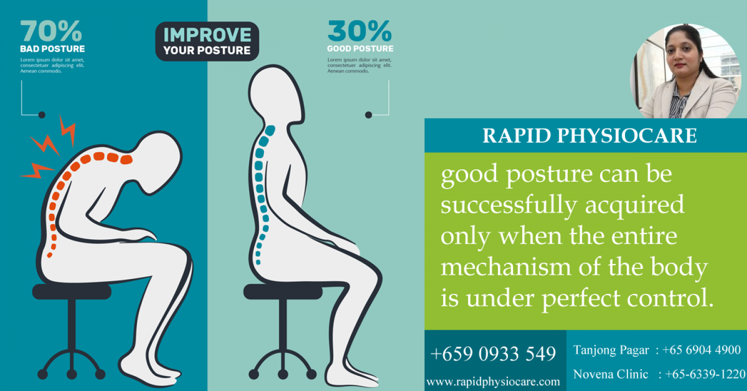 physiotherapy clinic in Singapore Infographic