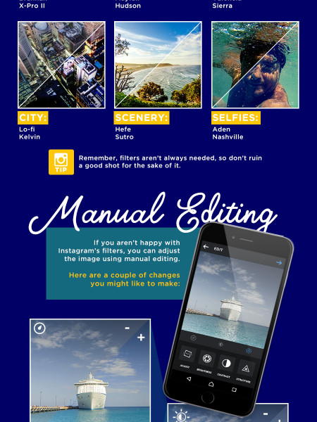 Picture The Pefect Trip - How To Instagram Your Holiday Infographic