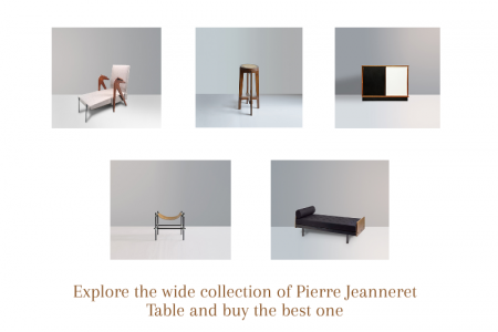 Pierre Jeanneret Furniture Infographic