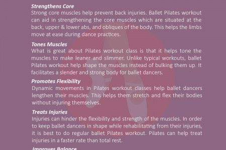 Pilates Workout for Ballet Dancers Infographic