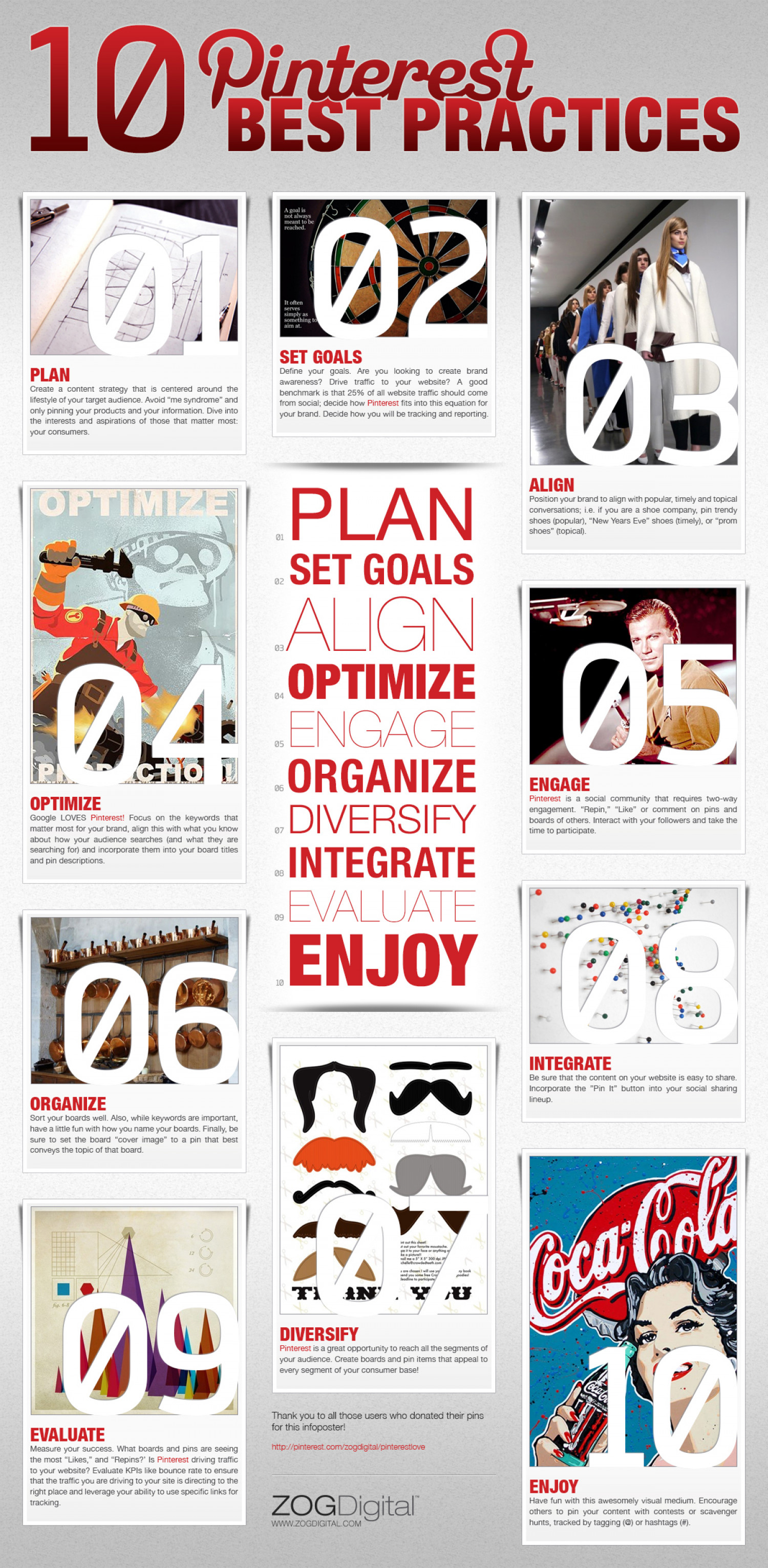 Pinterest Best Practices Infographic