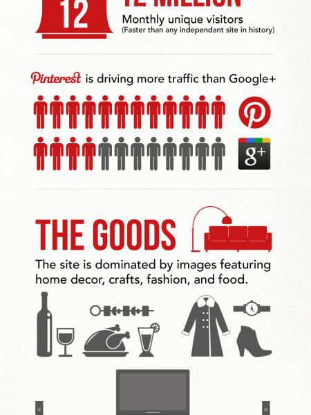 Pining for Pinterest Infographic