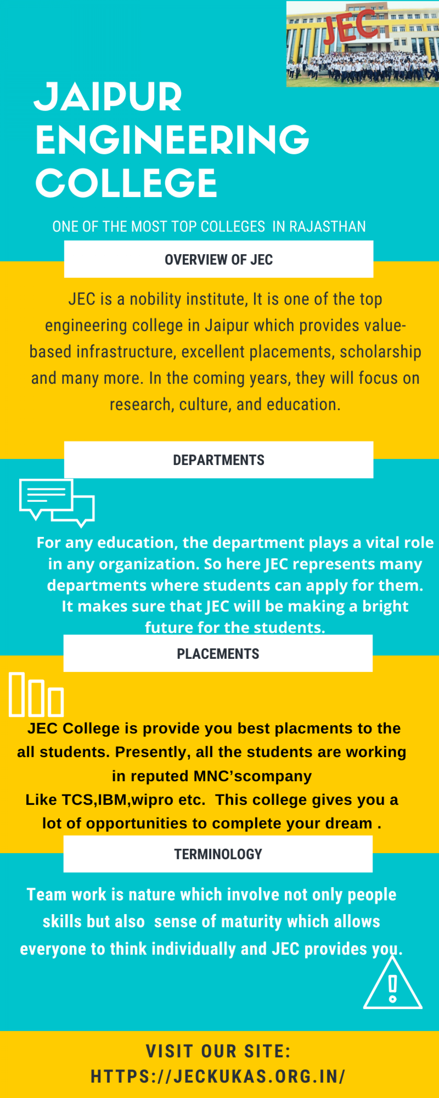 pioneering of JEC Infographic