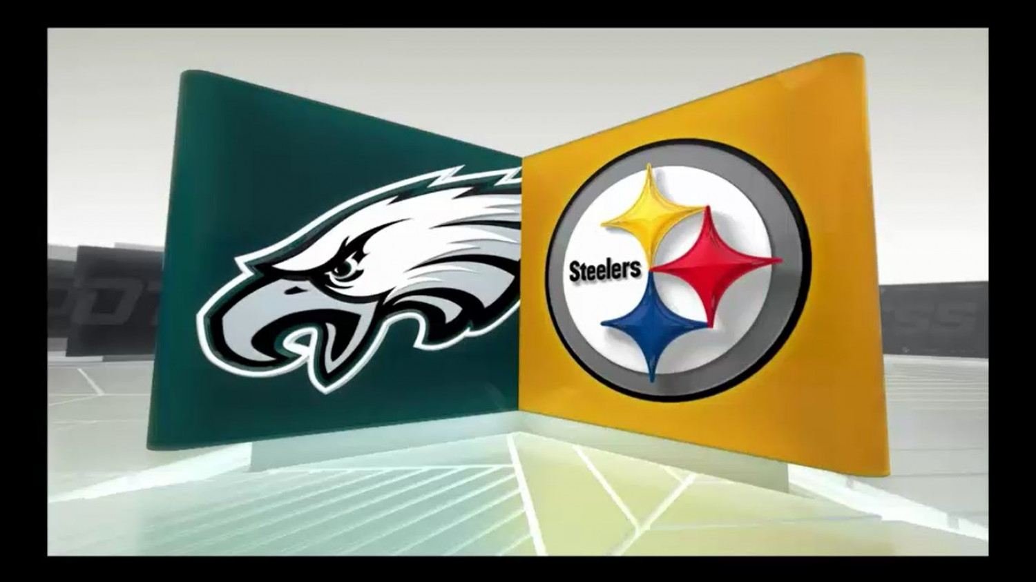 Pittsburgh Steelers and Philadelphia Eagles Infographic
