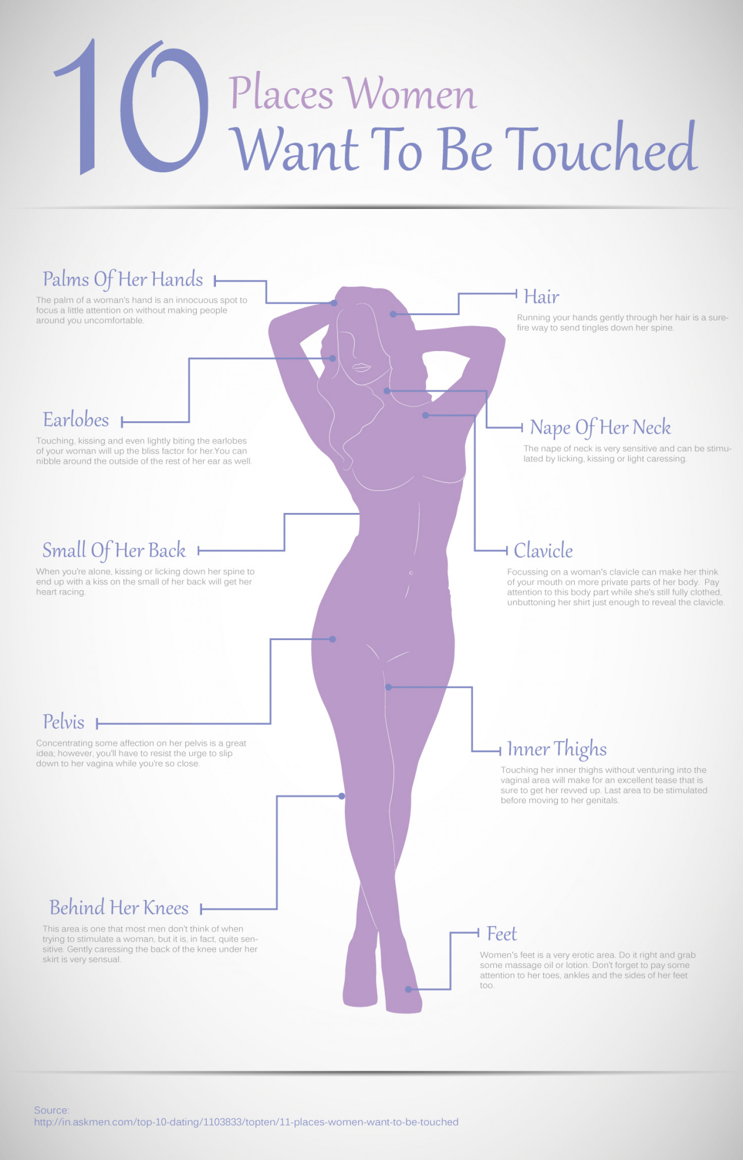 How women want to be touched