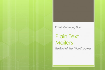 Plain text mailers for successful email marketing campaign Infographic