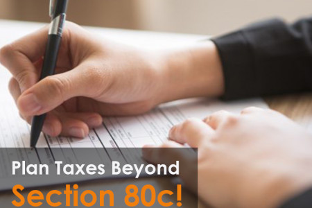 Plan Taxes Beyond Section 80c Infographic