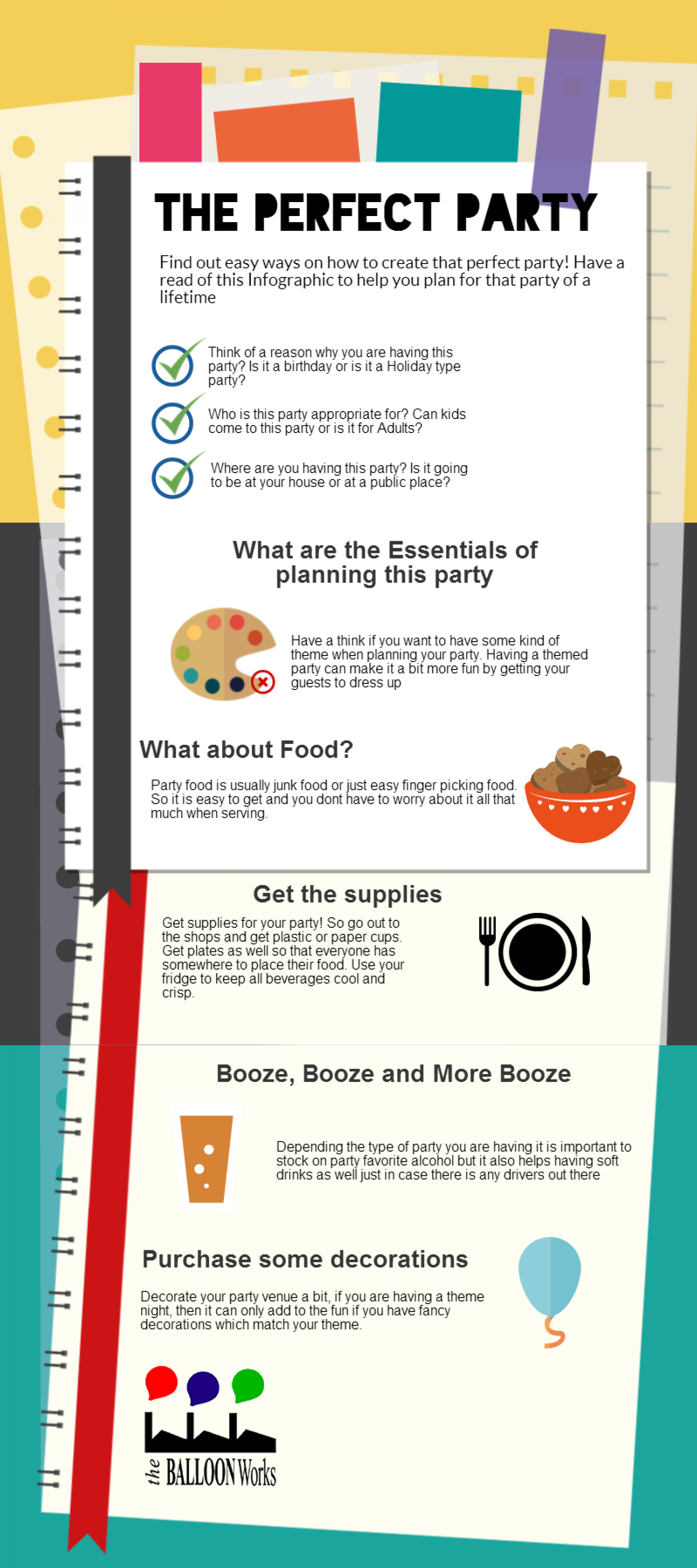 The Perfect Party Infographic