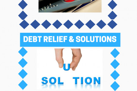 Plans and Advice for Debt Relief Infographic