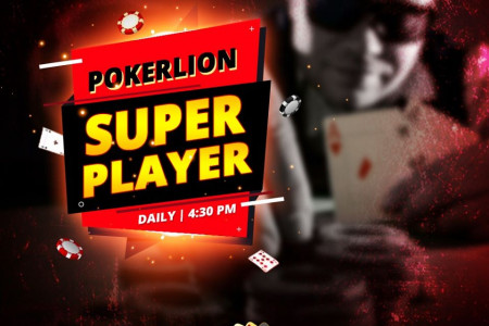 Play Online Poker Tournament Super Player Infographic
