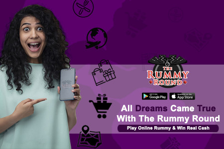 Play Online Rummy with 25% bonus of referring the game to your friends.  Infographic