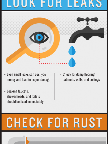 Plumbing Maintenance 101 Infographic
