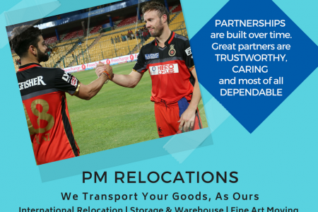 PM Relocations- Your One Stop Moving Partner  Infographic