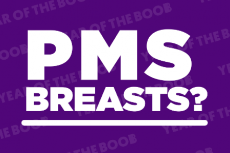 PMS Breasts? Infographic