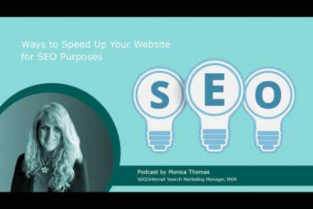 Podcast | Ways to Speed Up Your Website for SEO Purposes Infographic