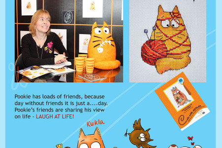 Pookie Cat - Brand with sense of Humor Infographic