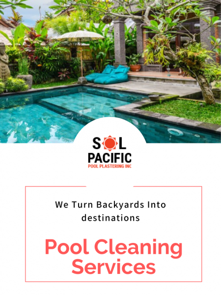 Pool Cleaning! Pool Remodeling Infographic