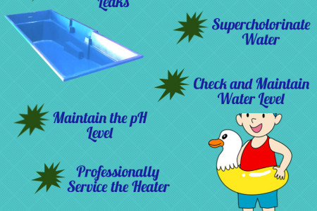 POOL MAINTENANCE TIPS Infographic