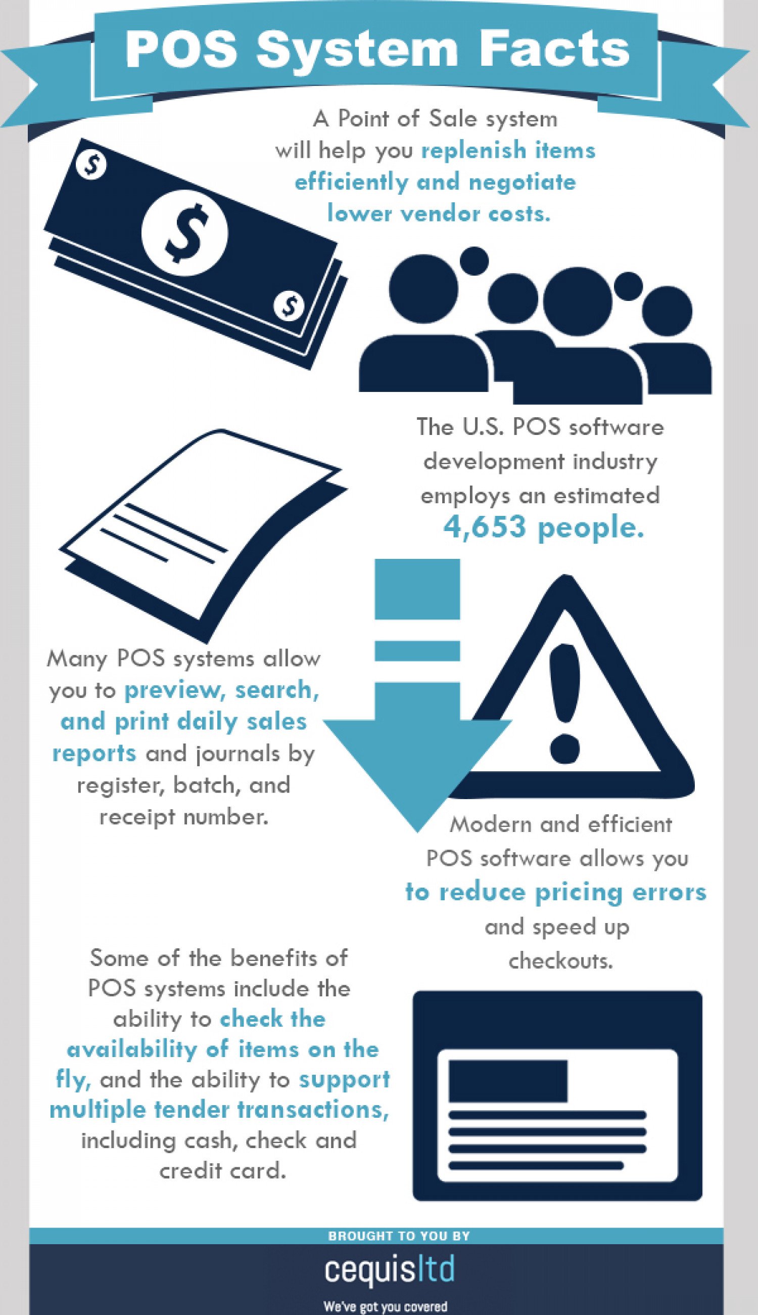 POS System Facts Infographic