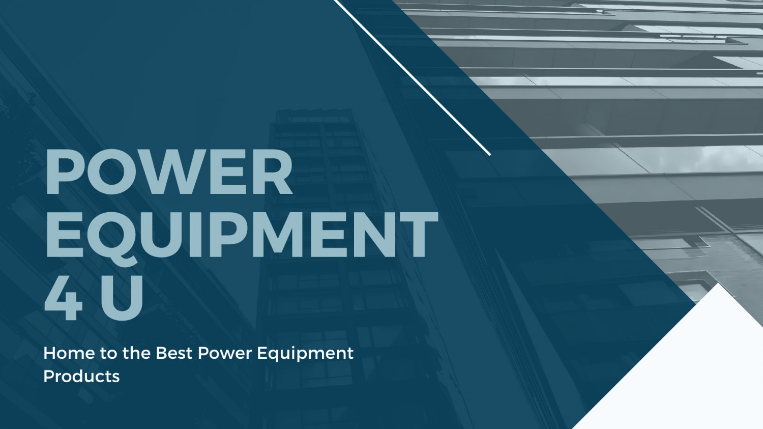 Power Equipment Products in UK Infographic