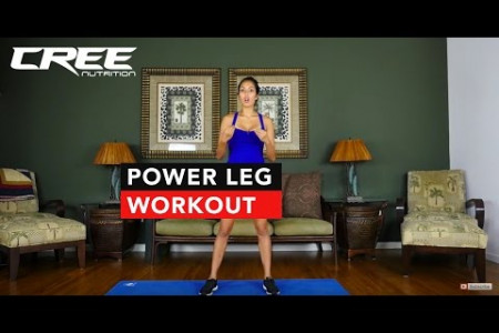Power leg workout with Marin - CREE Nutrition Infographic
