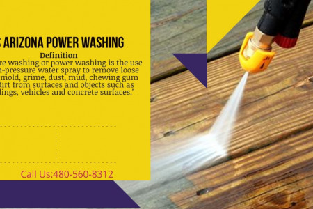 power washing Infographic