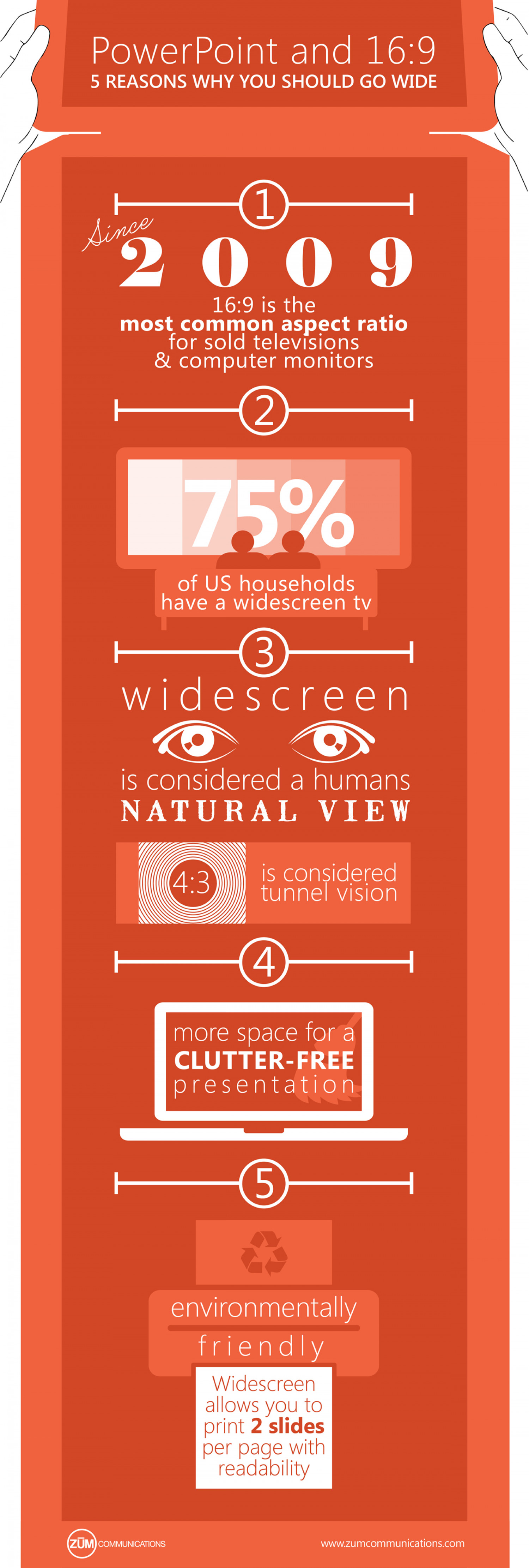 PowerPoint and 16:9 Infographic