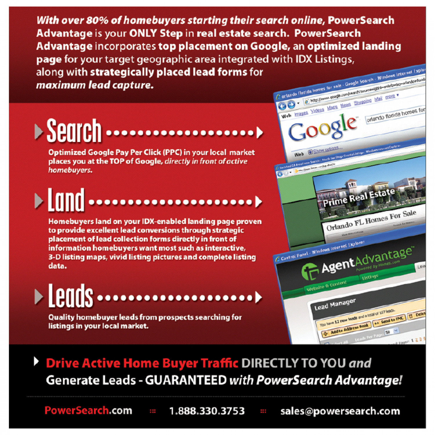 PowerSearch Advantage infographic Infographic