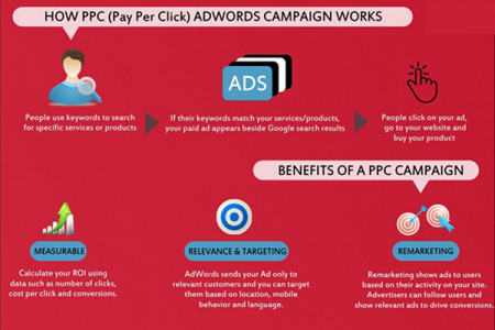 PPC For Lead Management Infographic
