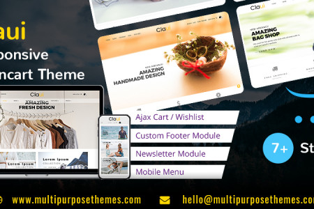 Premium OpenCart Template and Themes – Advantages Infographic