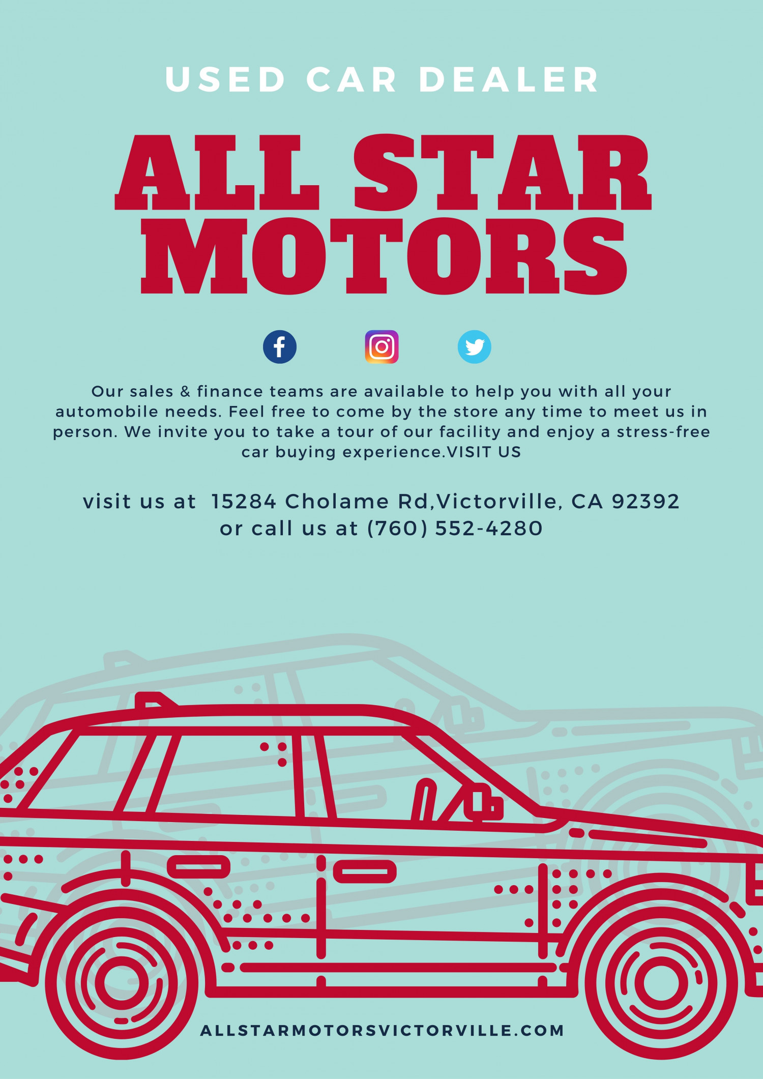 Pre-Owned Vehicles & Used Car Dealerships in Victorville CA Infographic