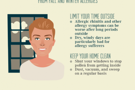 Prepare Yourself for Fall and Winter Allergies Infographic