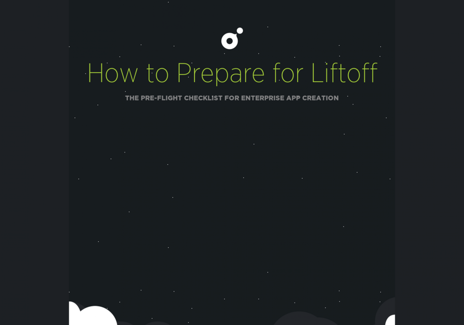 Preparing for Liftoff: The pre-flight checklist for enterprise app creation Infographic