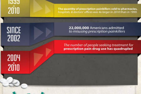 Prescription Drug Abuse in America Infographic