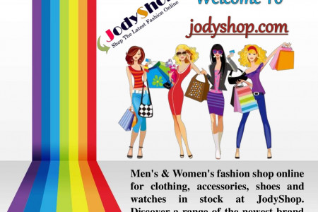 Presentation of Jodyshop fashion shopping Infographic