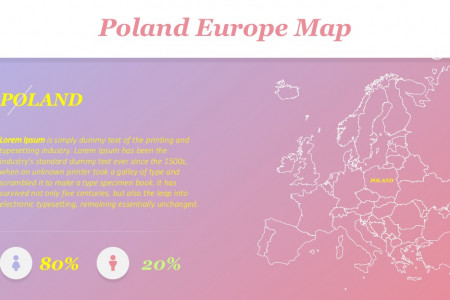 Presentation Template Maps: Europe | Free Download Infographic