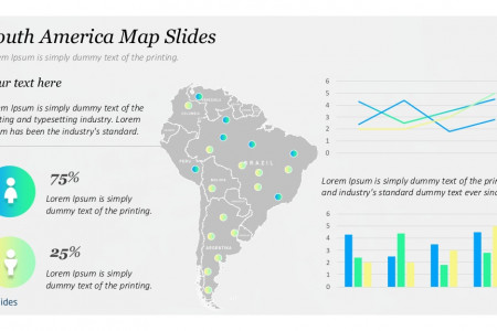Presentation Template Maps: South America | Free Download Infographic